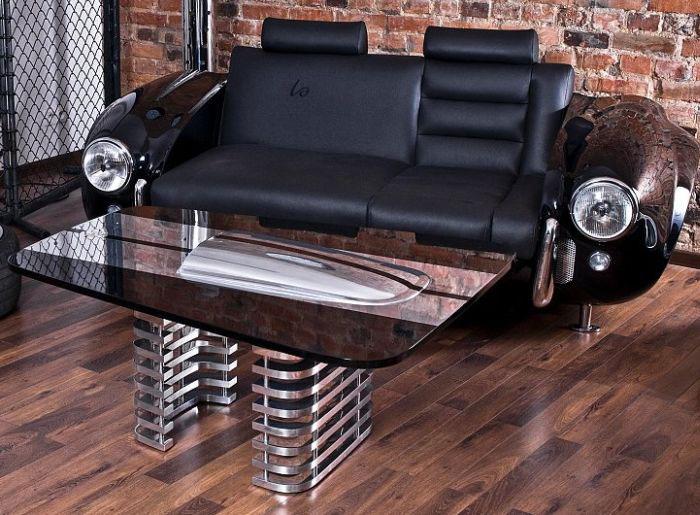 Мебель из старого авто