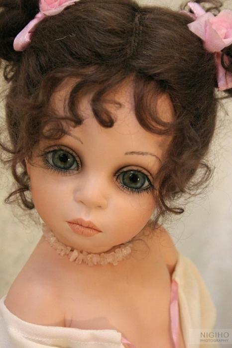 Куклы от Сью Линг Ванг (18 фото)