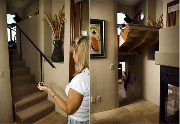Потайные комнаты в домах