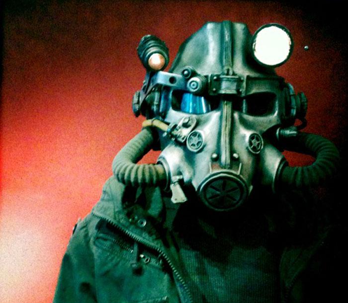 Шлем из игры Fallout 3