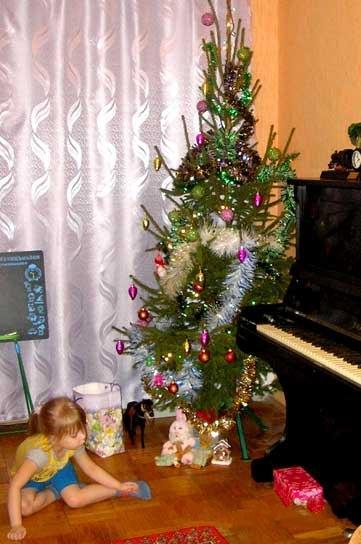Способ избавления от новогодней ёлки