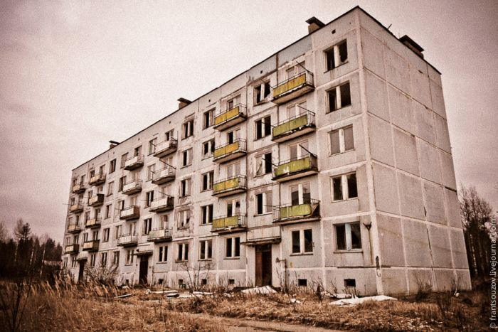 Забытый военный городок (40 фото)
