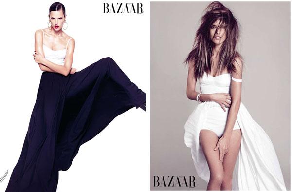 Алессандра Амбросио для Harper's Bazaar Spain