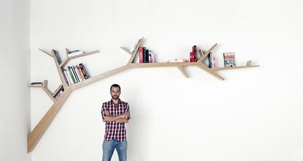 Полки-деревья от Olivier Dollé