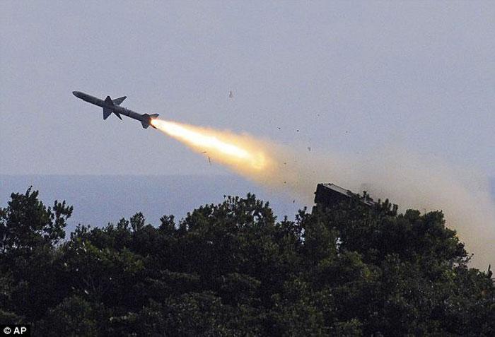 Неудача при испытаниях ракет на Тайване