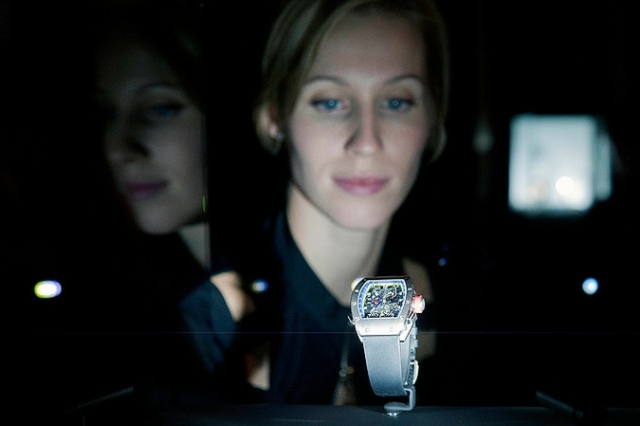 Выставка самых дорогих часов в Женеве