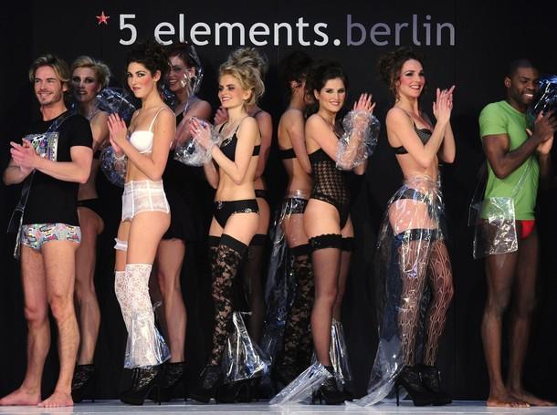 Международная выставка нижнего белья в Берлине