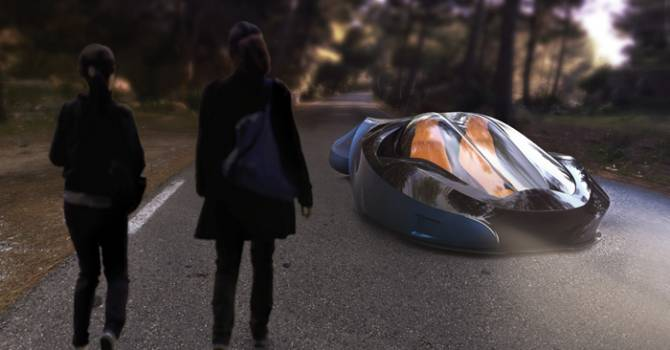 Автомобиль будущего от Томаса Ларсена (6 фото)