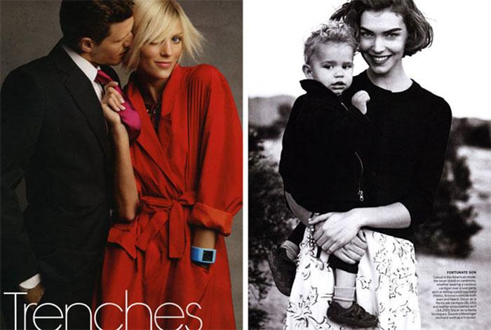 ��� ���������� � Vogue US (������� 2011)