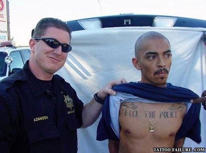Подборка неудачных татуировок
