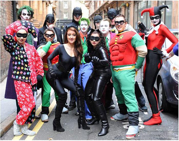 Открытое прослушивание шоу «Бэтмен Жив» в Лондоне