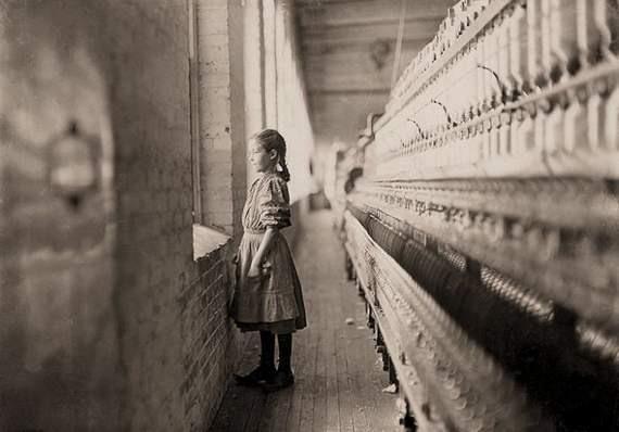 Труд детей 100 лет назад