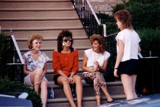 Стиль девушек с 80-ых (11 фото)