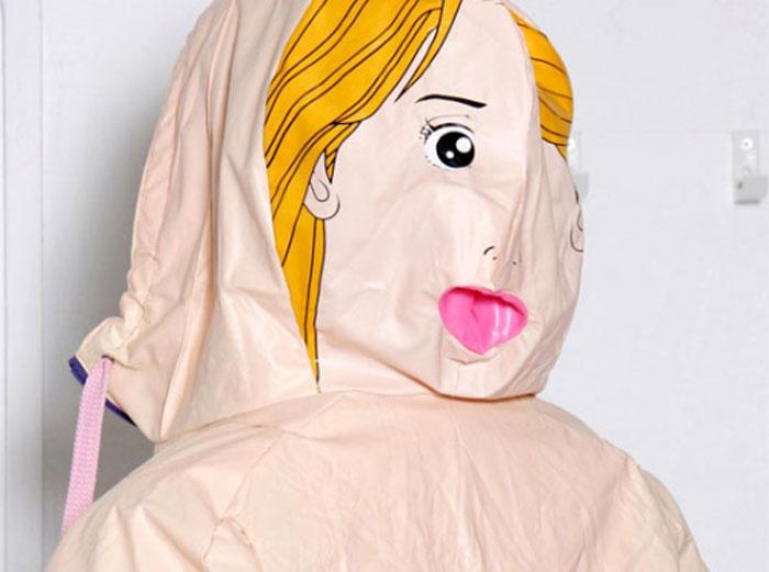 Водонепроницаемая одежда из надувных кукол