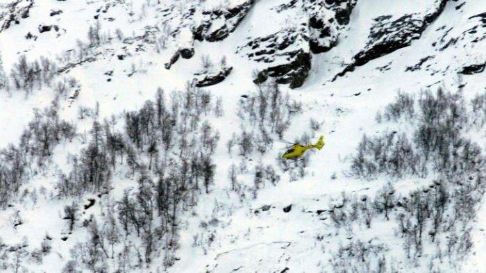 Спасательная операция в Норвегии
