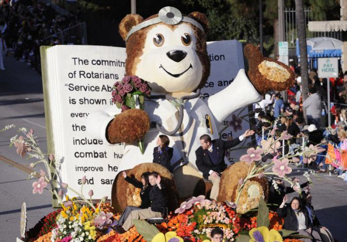 121-й парад роз в Калифорнии