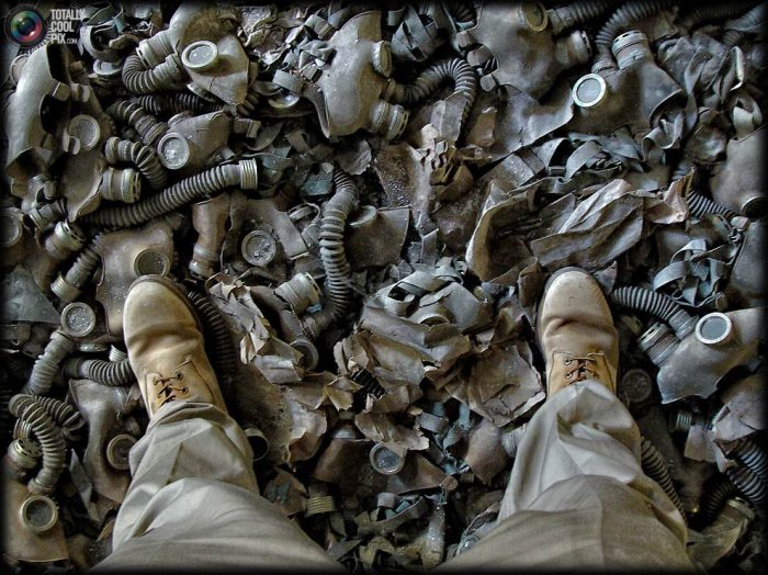 Чернобыль-город призрак