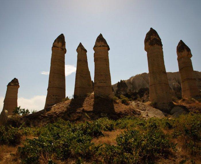 Турецкая долина любви в Каппадокии (17 фото)