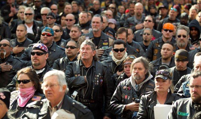 Слет техасских байкеров