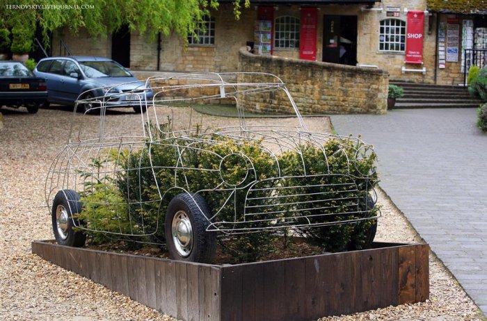 Музей старинных автомобилей в Bourton-on-the-water