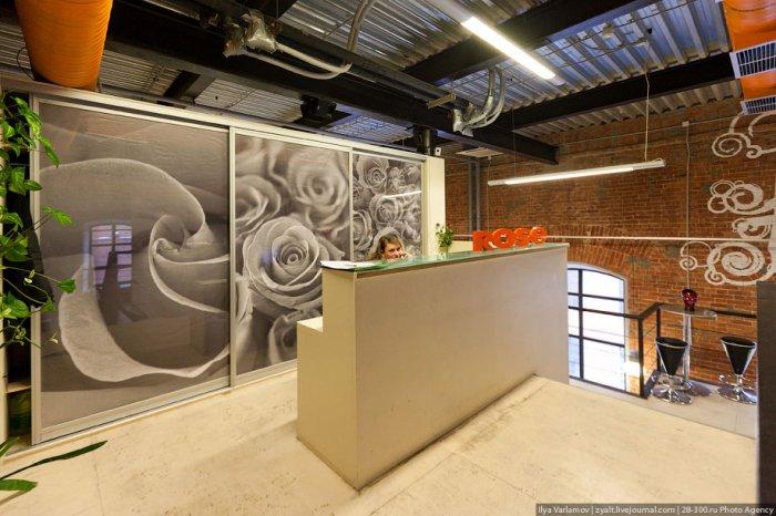 Кухня для сотрудников и клиентов