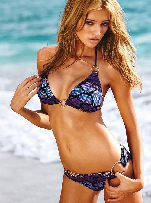 Шикарная модель Kylie Bisutti в новой коллекции бикини от Victoria Secret