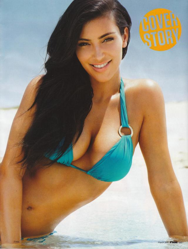 Ким Кардашиан (Kim Kardashian) - FHM UK March 2011