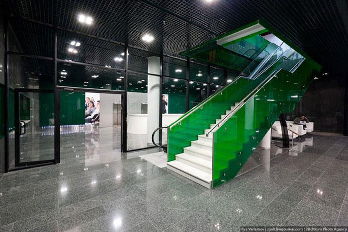 Интерьеры бизнес-школы Сколково