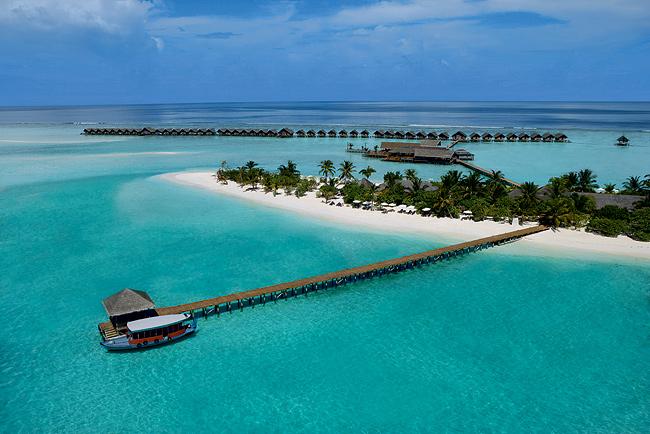 Роскошный отель на Мальдивских островах
