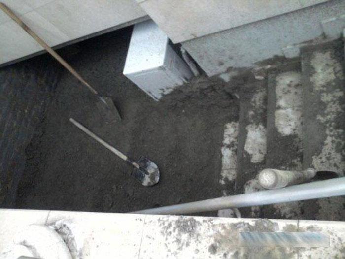 В Одессе залили ночной клуб бетоном!