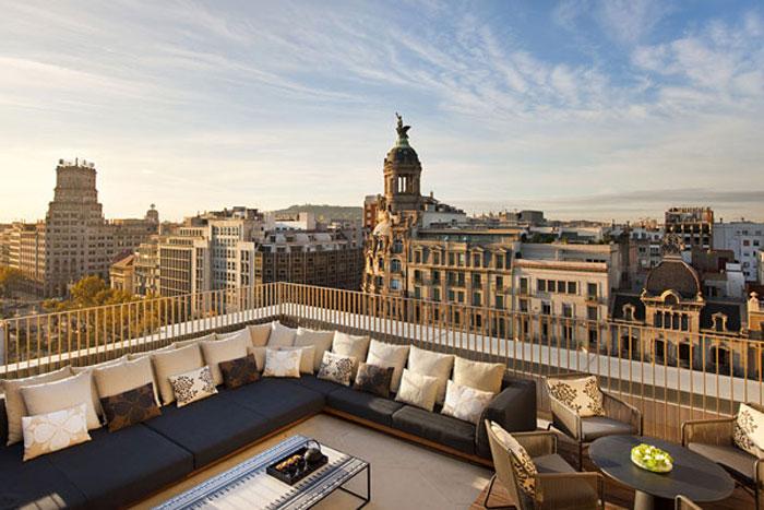 Необычный отель Mandarin Oriental в Барселоне