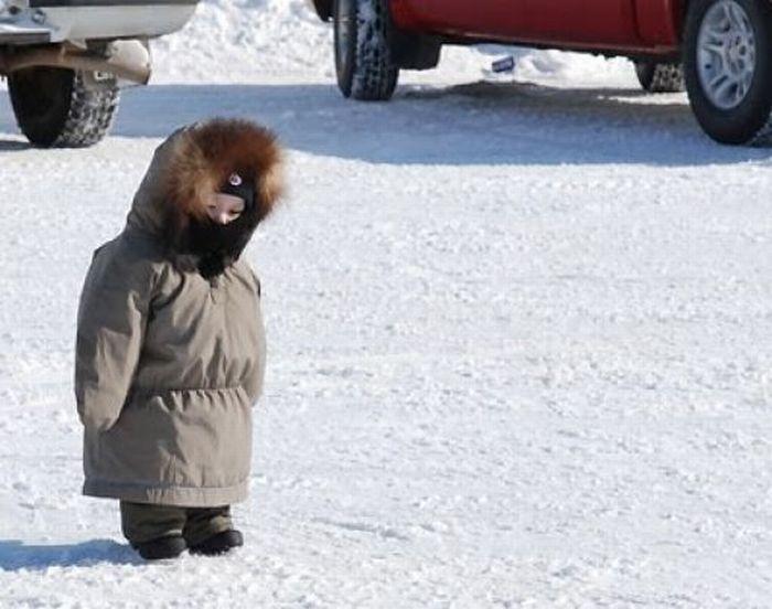 Зимняя подборка детишек