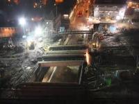 В Англии за 3 дня поменяли 1000-тонный ж/д мост