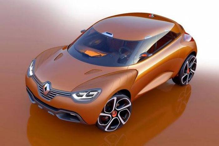 Концептуальный компактный кроссовер Renault Captur