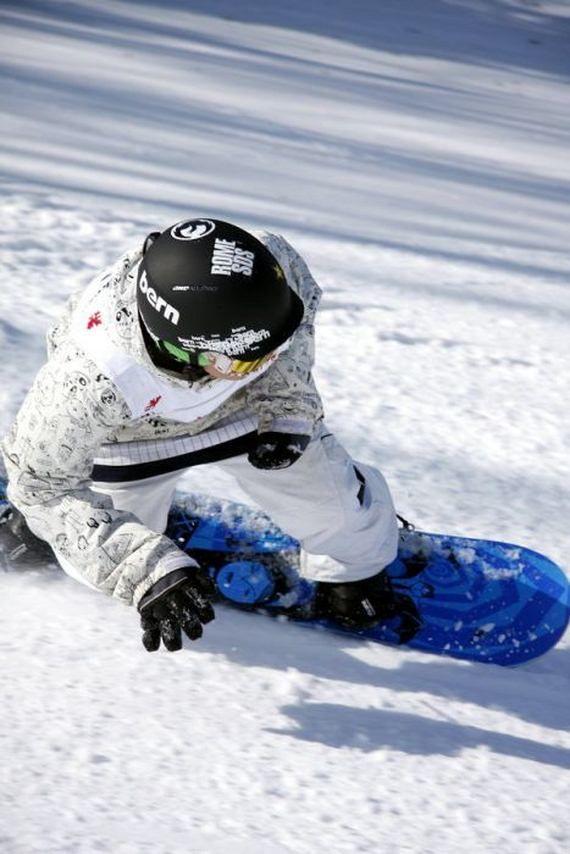 Как сделать крутое на сноуборде