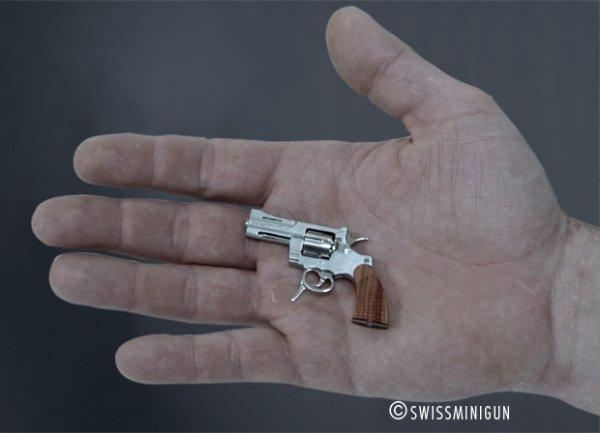 Cамый маленький пистолет мире (11 фото)
