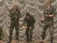 Русский спецназ на показах
