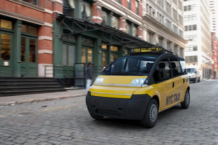 Концепт Karsan V1 New York City Taxi