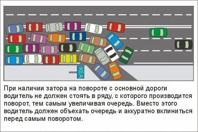 Правила Дорожного Движения и реальная жизнь