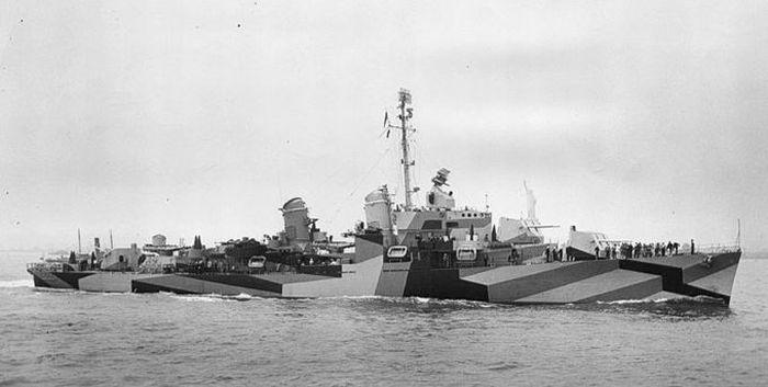 Маскировка кораблей во времена Первой Мировой Войны