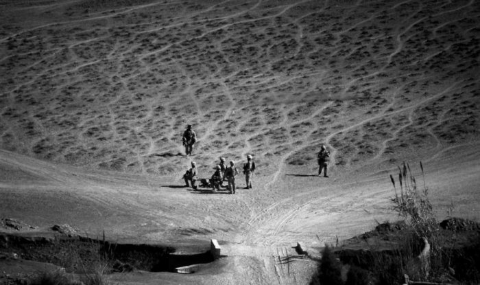 Фотографии Афганистана сделанные с борта вертолета