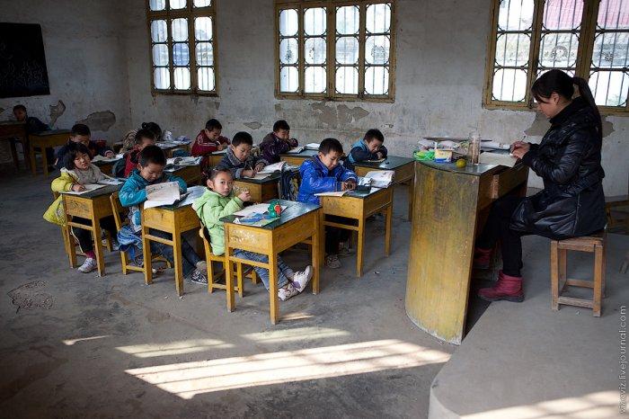 Китайская школа в деревне