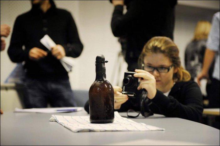 Финские водолазы нашли самое старое пиво в мире