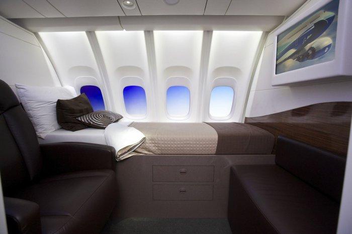 Новый пассажирский самолет Boeing 747-8 Intercontinental