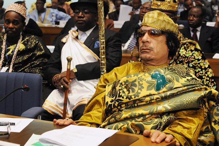 Необычный стиль Каддафи