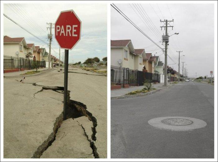 В Чили через год после землетрясения