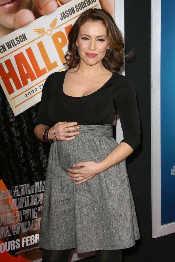 Фото беременной алисы