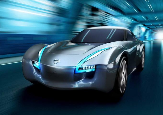 Электрический спортивный Nissan ESFLOW (10 фото)