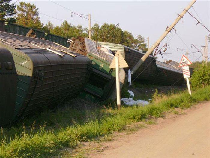 Происшествия на железной дороге