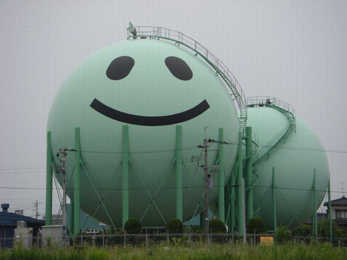 Японские газовые хранилища